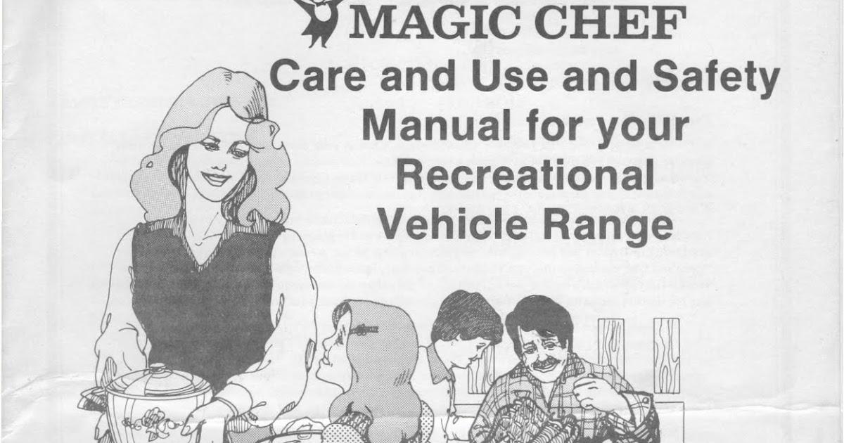 Rv Water Pump Diagram 1983 Fleetwood Pace Arrow Owners Manuals Magic Chef Rv